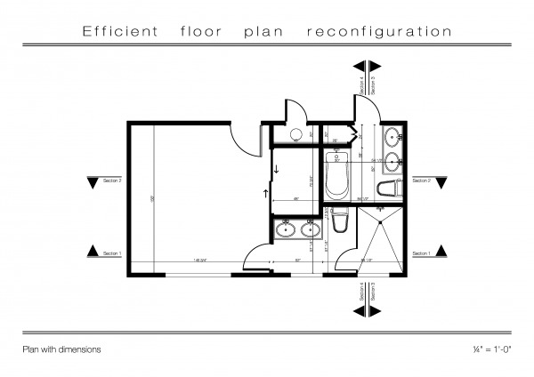 Image Efficient floor plan r...