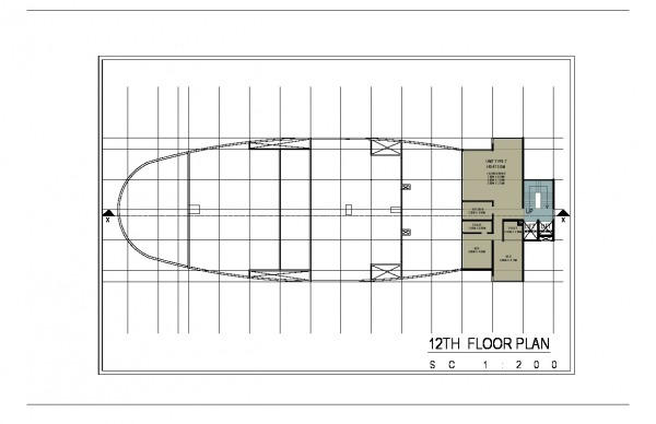 Image Twelveth Floor Plan