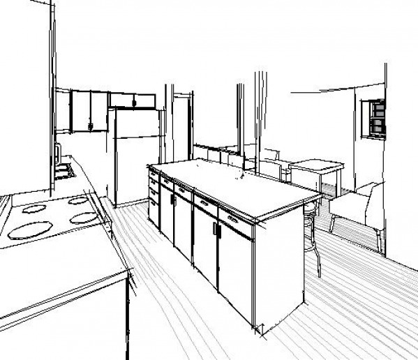 3D VIEW OF KITCHEN- OP...