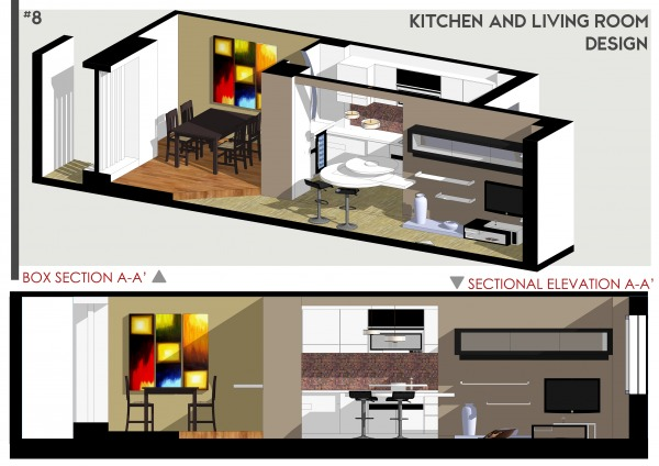 Image Kitchen & Living Room ... (2)