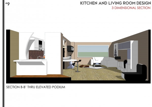 Image Kitchen & Living Room ... (1)