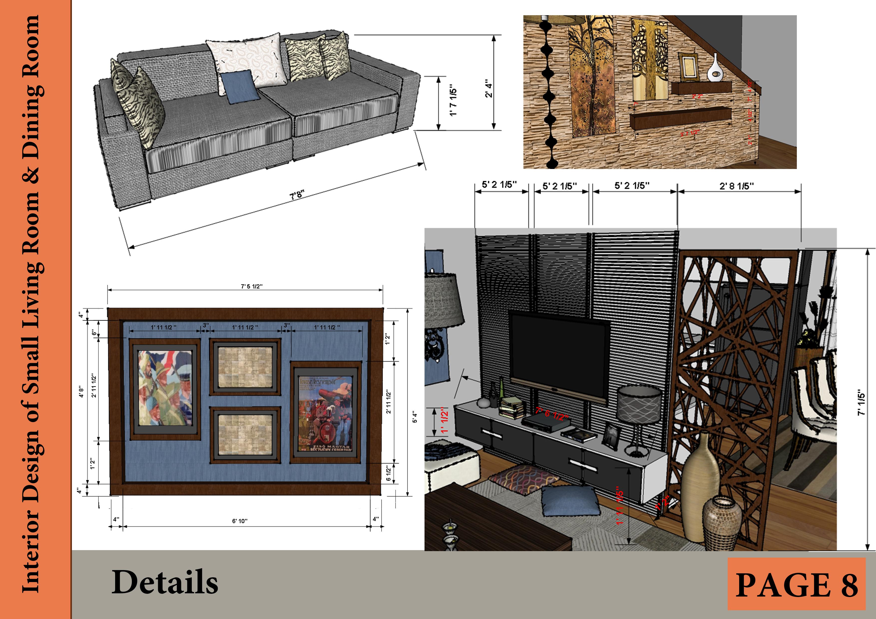 Interior Living Room Design Project Designed By Mai Taha Interior Design Of Small Living Room