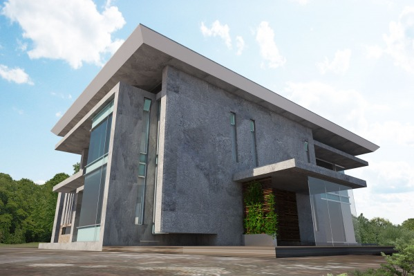 Image House B entrance
