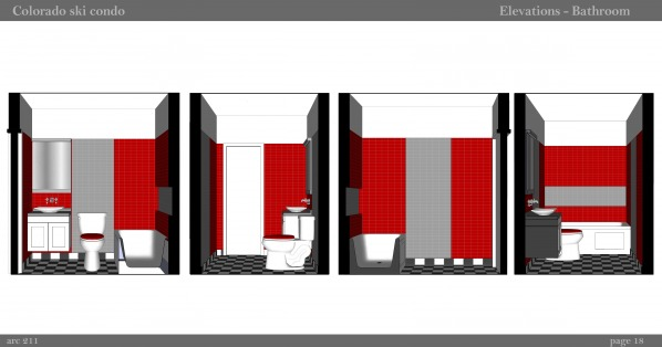 Image 18. Elevations - Bathroom