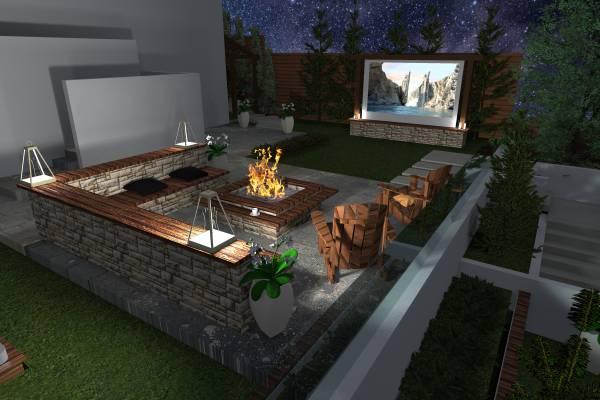 Image Modern Pool and Landsc... (1)
