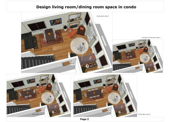 Image Design living room/din... (2)