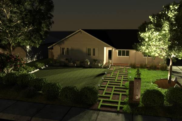 Image night view