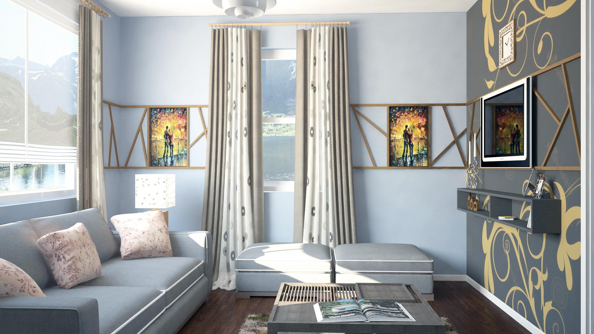 Interior Living Room Design Project Designed By Irakli Jokhadze Interior Design Of Small