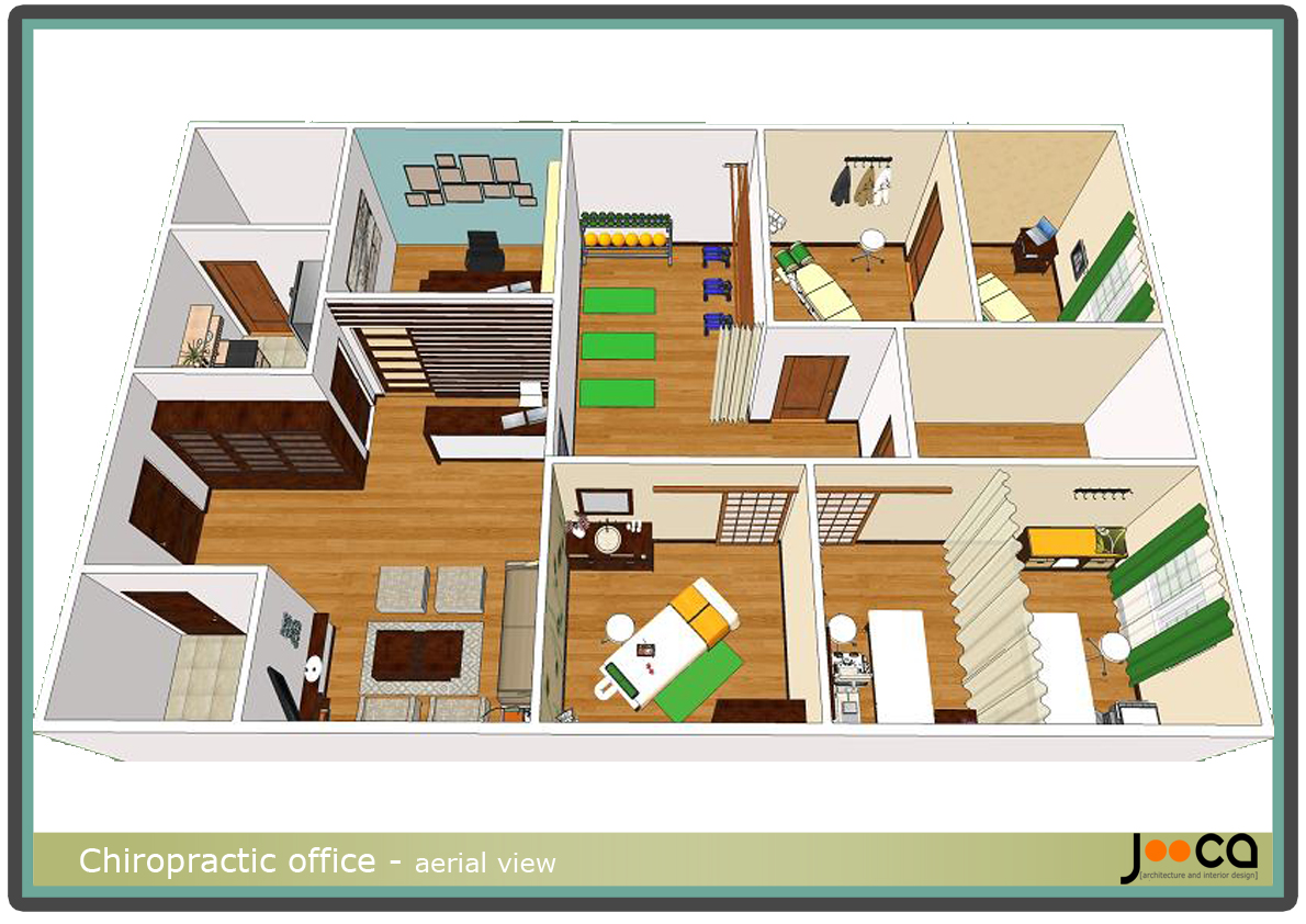 Viewdesignerproject projecthealthcare for Chiropractic office layout