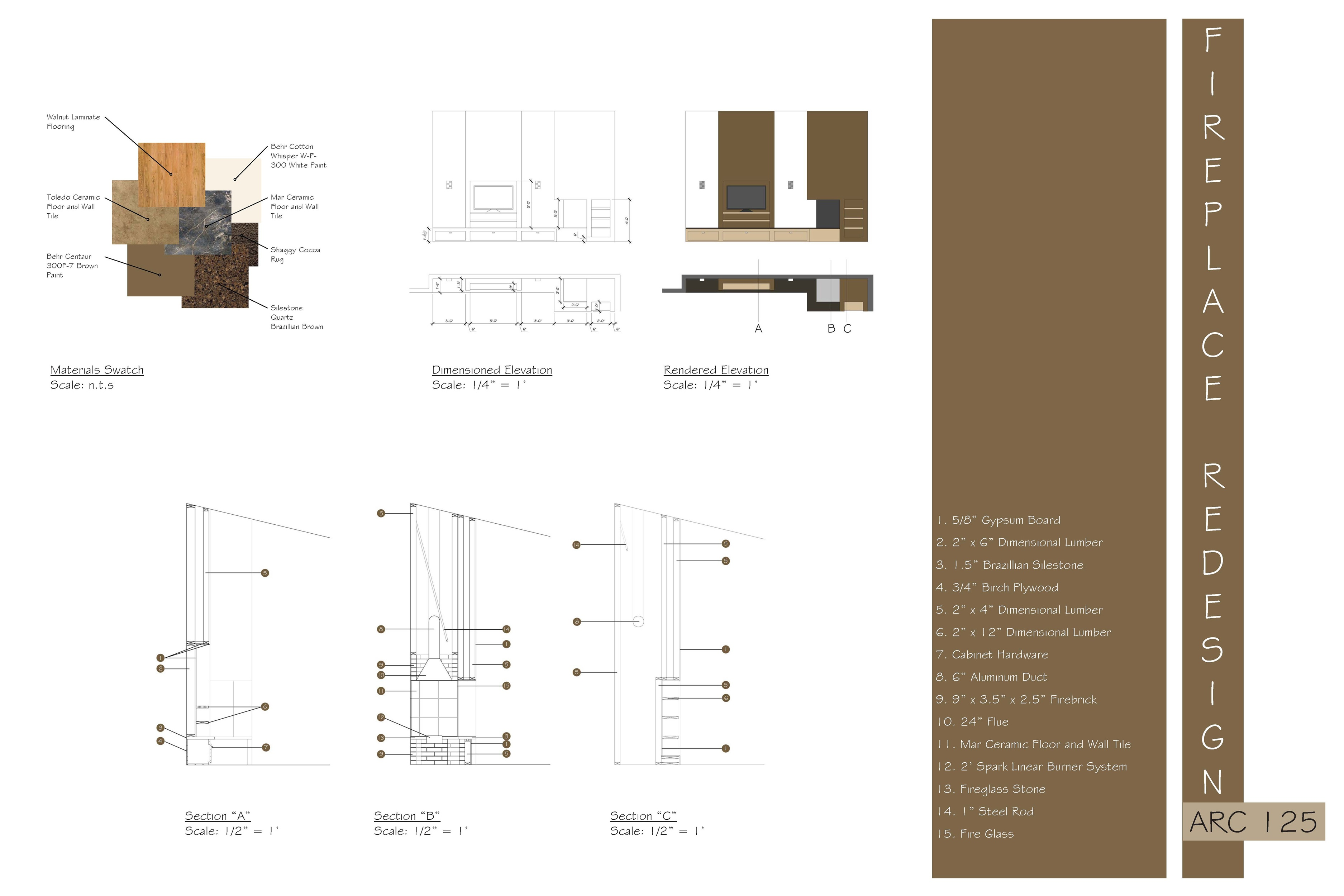 Home Interior Design Project designed by C + P Design - Corner ...