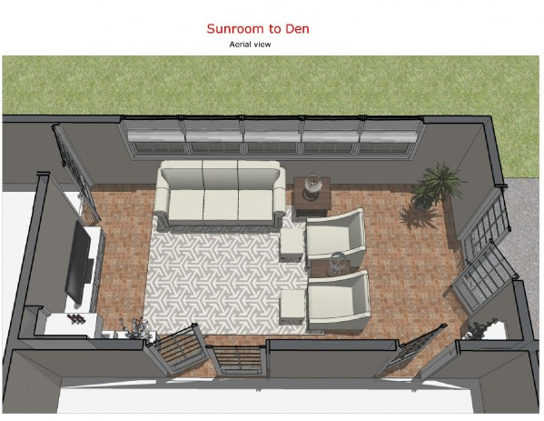 Image Sunroom to Den