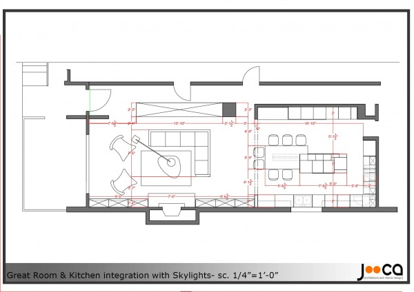 Image Furniture plan- scale ...