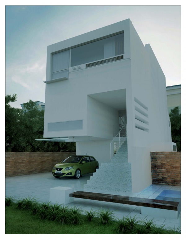 Image exterior modeling
