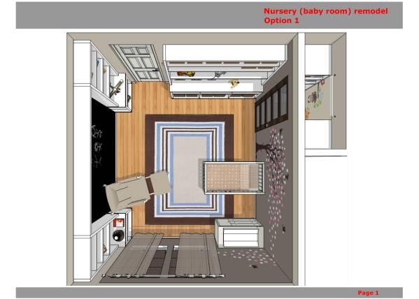 Image Nursery (baby room) re...