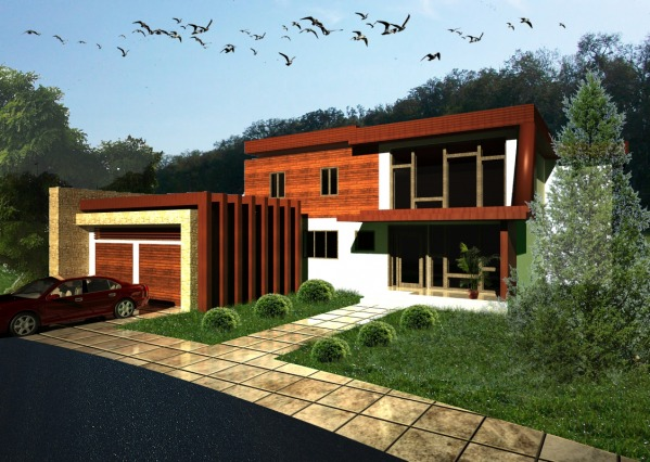 Image Contemporary Garage an...