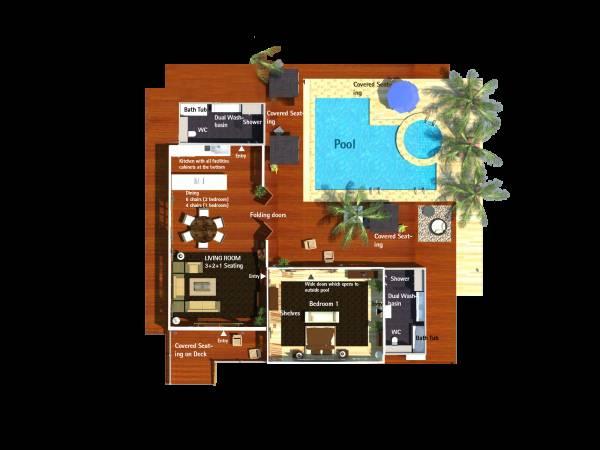 Image 1 bedroom, 2 ensuite b...