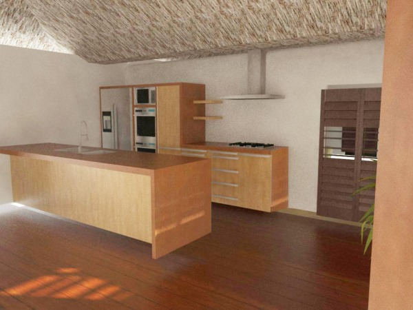 Image Kitchen with cabinets,...