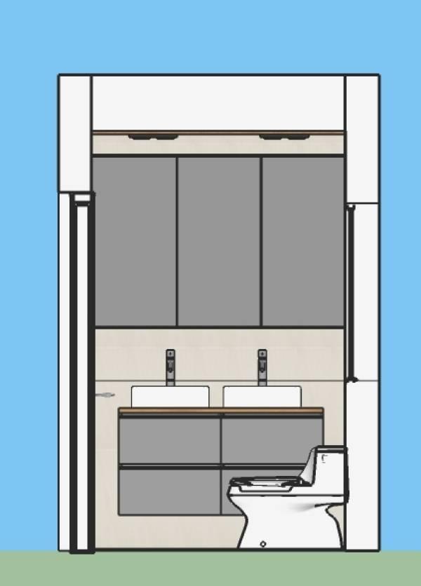 Image Small Master Bathroom ... (2)