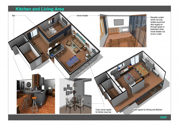 Image Kitchen and Living Area (1)