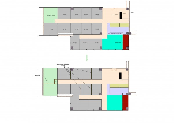 Image wall and offices -veri...