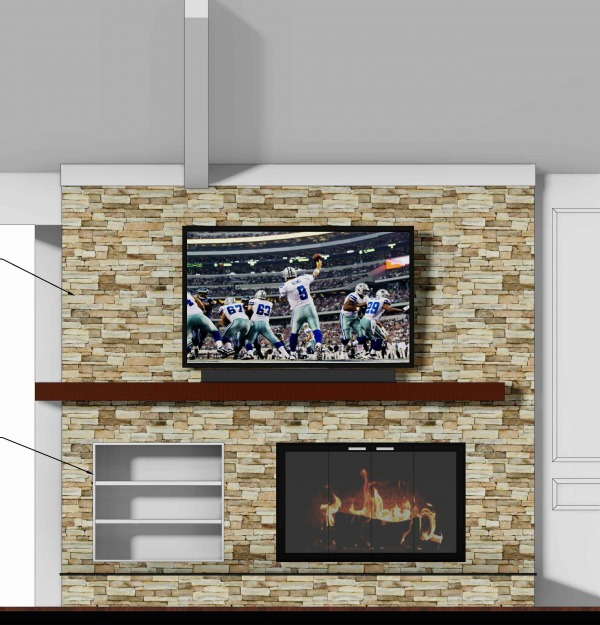 Image Dallas Fireplace Remodel (0)