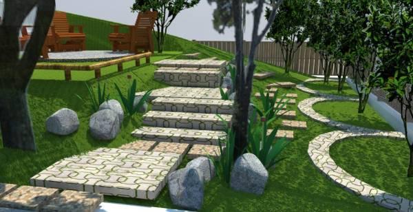 Concrete grass crete p...
