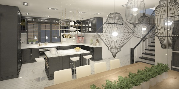 Image Kitchen, dining zone