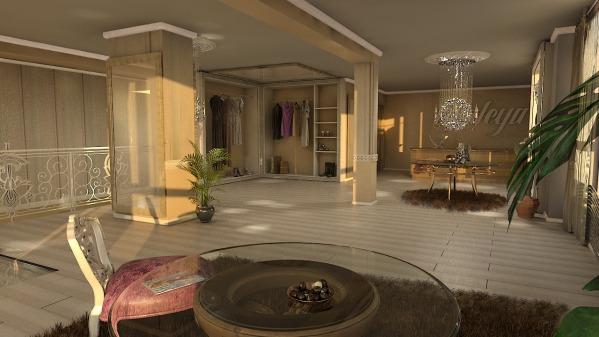 Fashion studio Interior