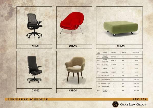 Image Furniture Schedule