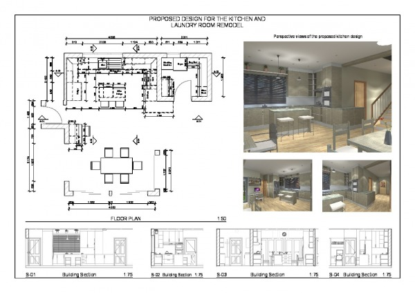 Image Floor Plan and Sections