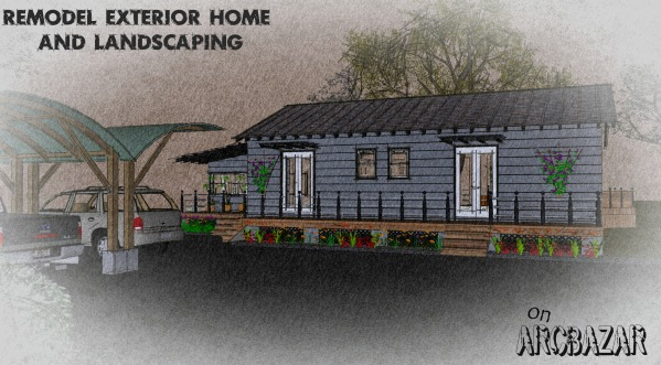 Image Remodel exterior home ...