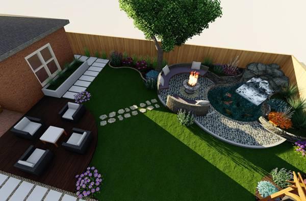 Image Beautiful Backyard