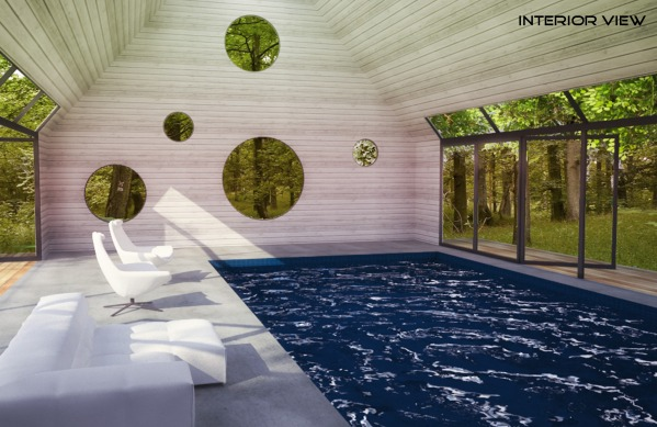 Image Indoor pool/spa and house (2)