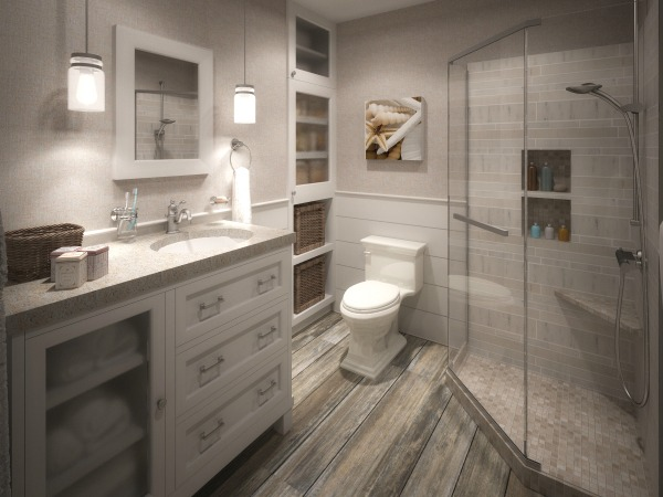 Image Small Bathroom Design/...
