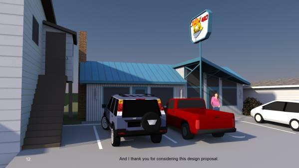 Image Sketch for New Facade ... (2)