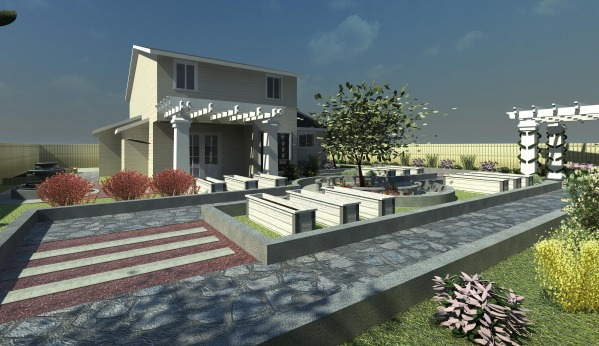 Image 3D Rendering - South East