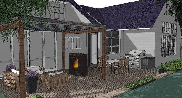 Image Backyard Patio & Firep...