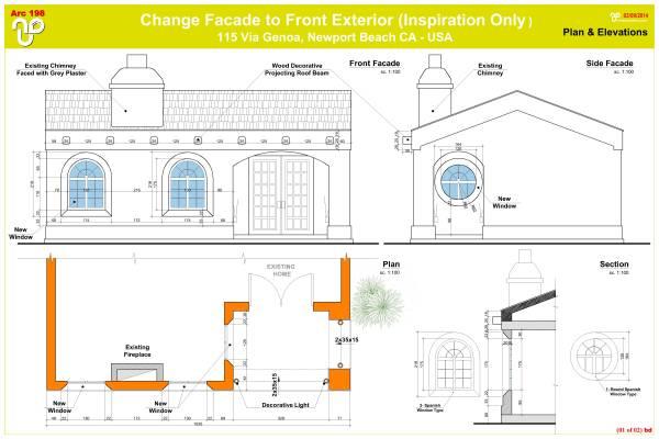 Image 01---Elevation - Plan ...