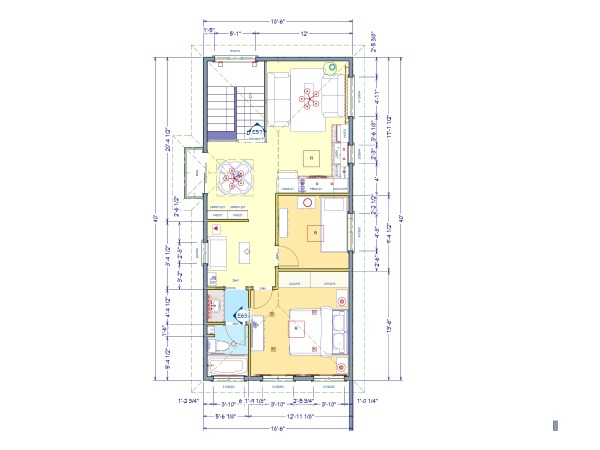 Accessory Dwelling Unit Floor Plans Home Design