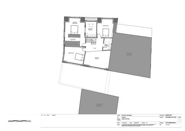Image Proposed Loft Plan 1:100