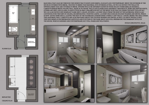 bathroom design project designed by dusan zdravkovic bathroom with