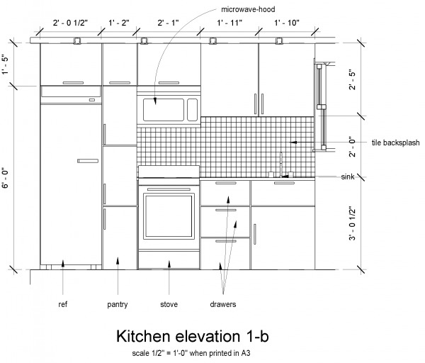 Kitchen Design Elevation: Kitchen Designed By Libra. K