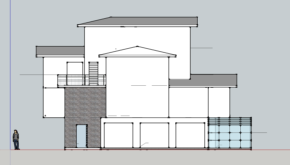 Floor Front Elevation Xp : Small residences elevation joy studio design gallery