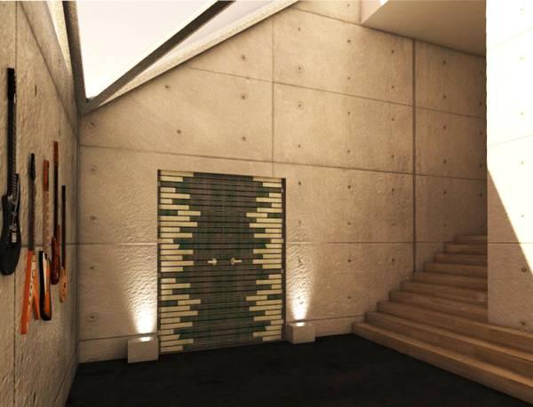 Image Loft Entrance lobby.