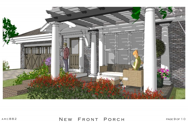 Image New Front Porch and En... (2)