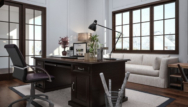 Image Home office, Mudroom, ...