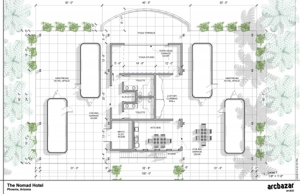 Image The Nomad Hotel - Plan...