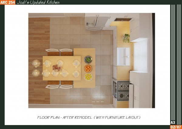 Image Jodi's Updated Kitchen (2)
