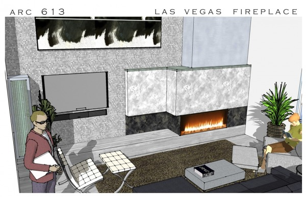 Image Corner Fireplace Redesign