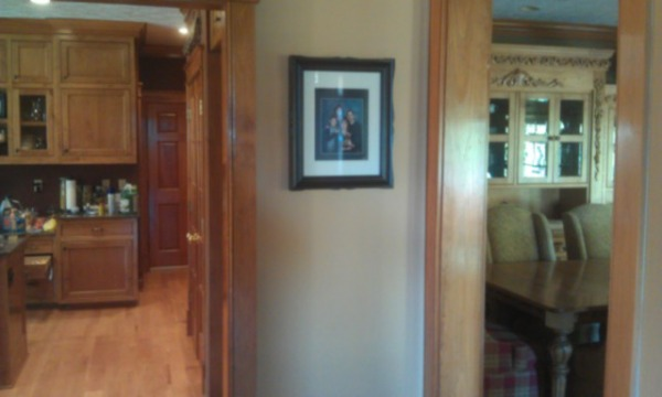 Image wall between kitchen a...